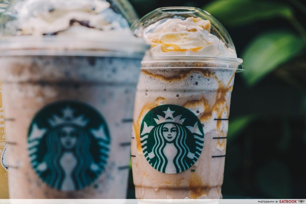 starbucks app drinks
