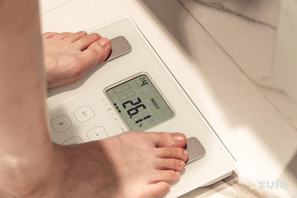 health checks omron digital scale
