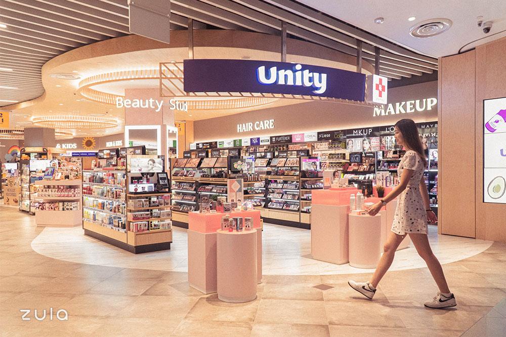 unity vivocity store front