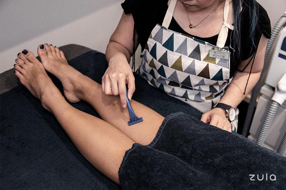 shaving service