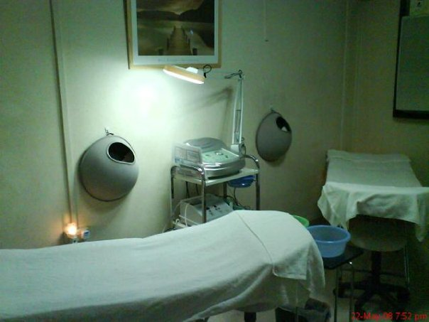 my facial room