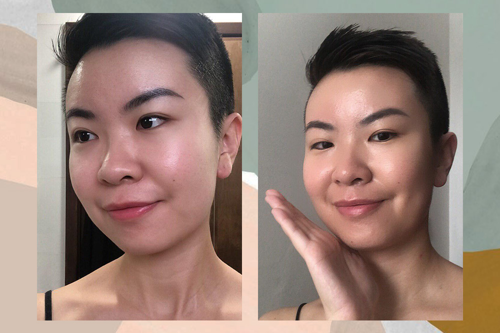 3-step skincare after one week