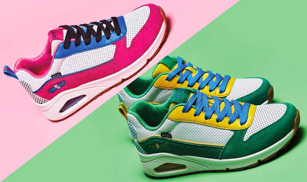 BT21 x Skechers' New Rainbow Collection Has One For Each BTS