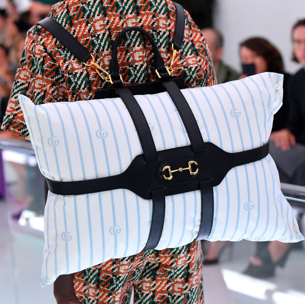 gucci pillow backpack
