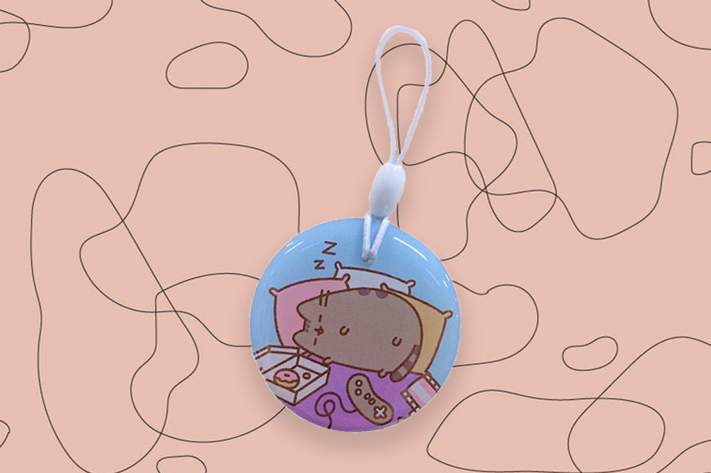 pusheen ez charms food coma