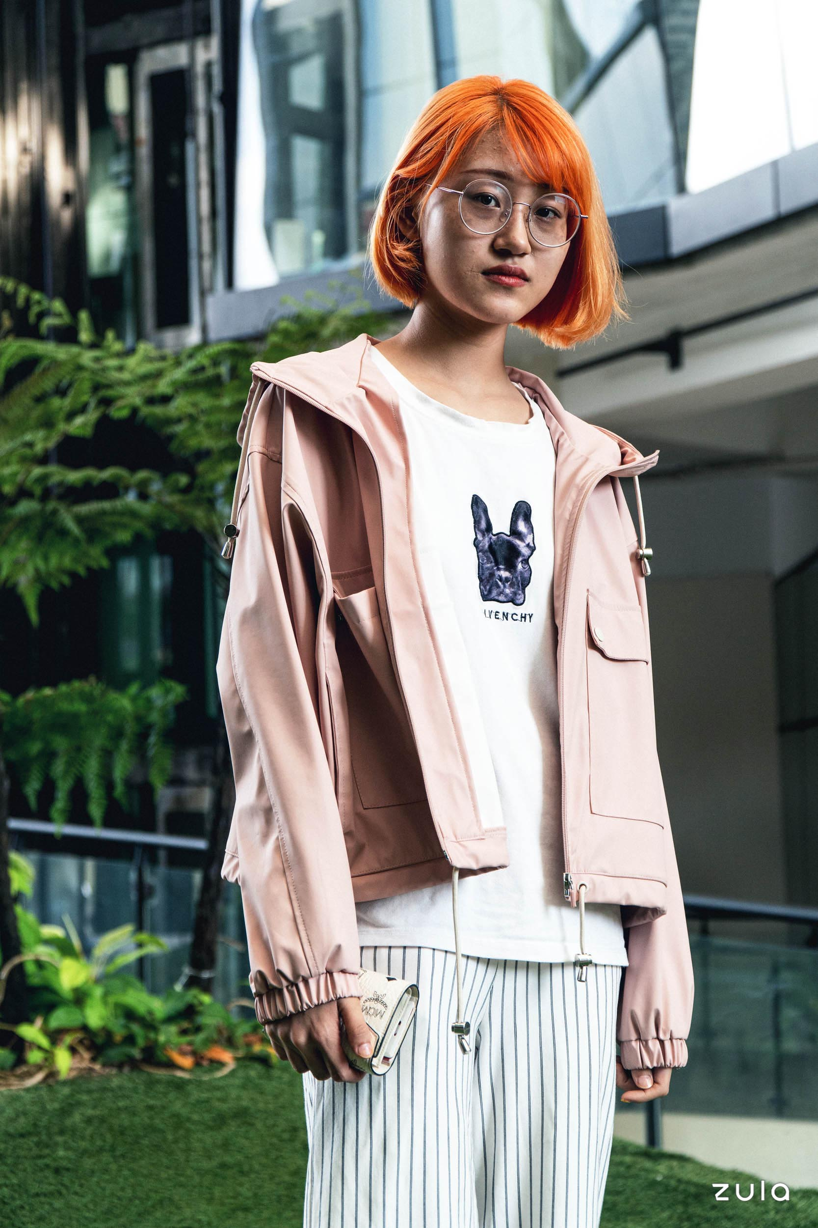 street style oct 2019 dong qi