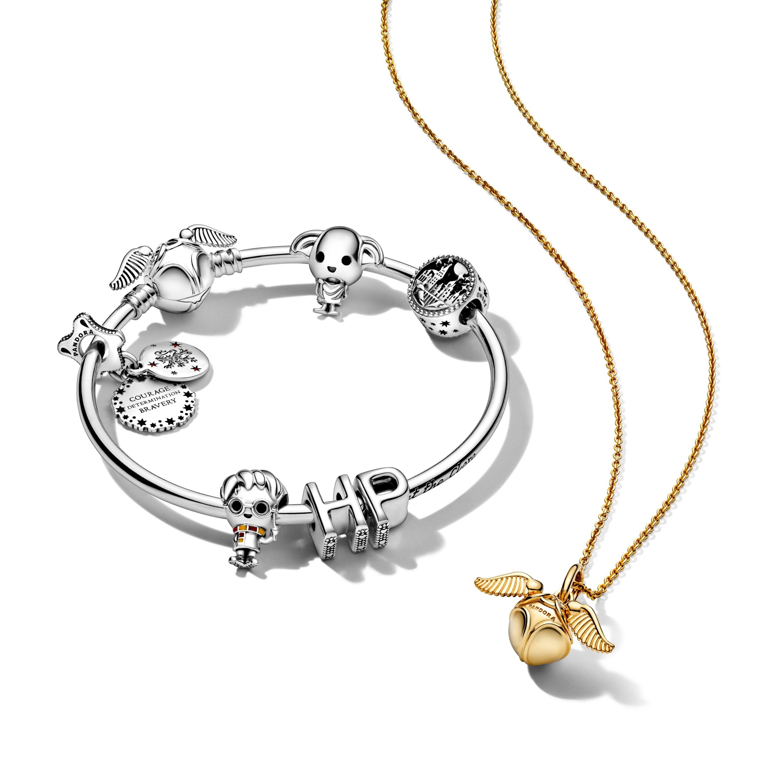 harry potter pandora bracelet necklace