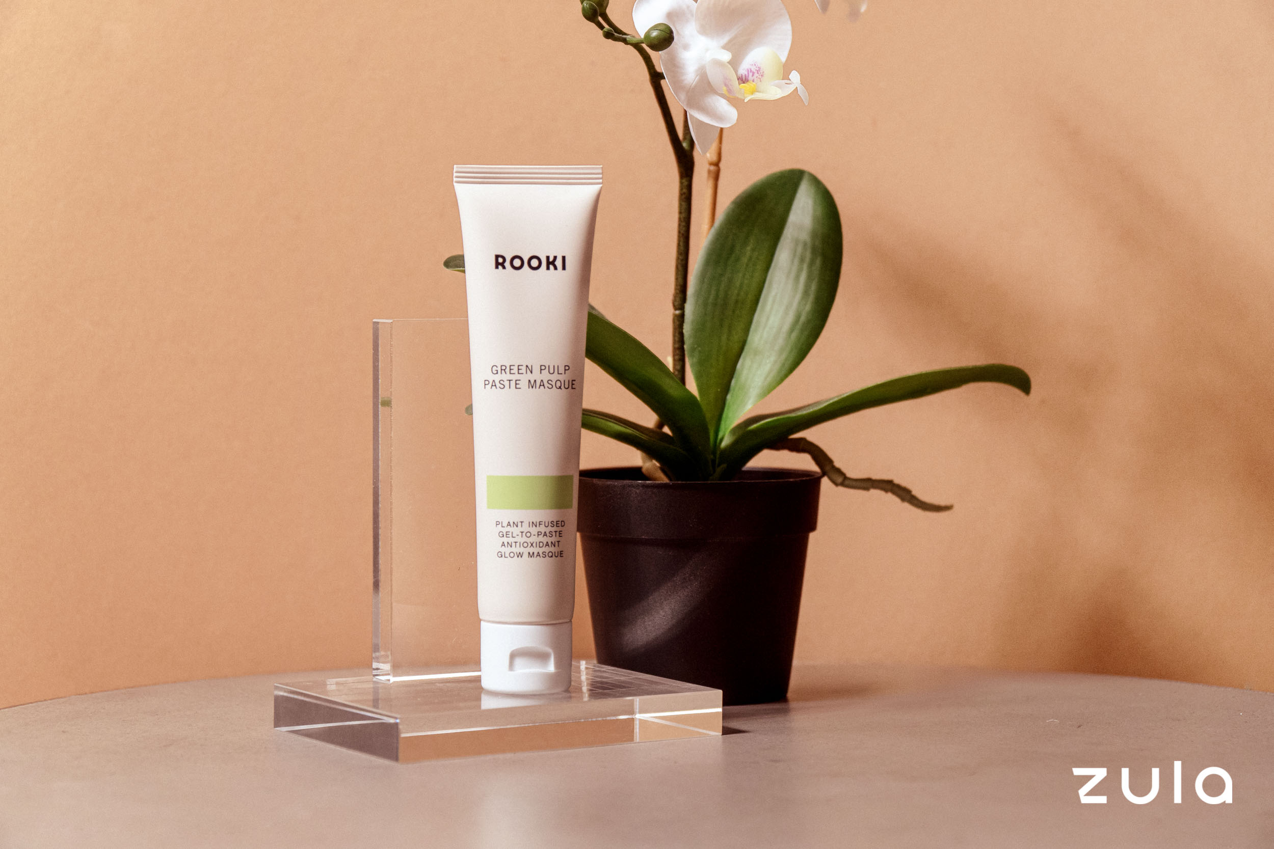minimalist skincare routine mask
