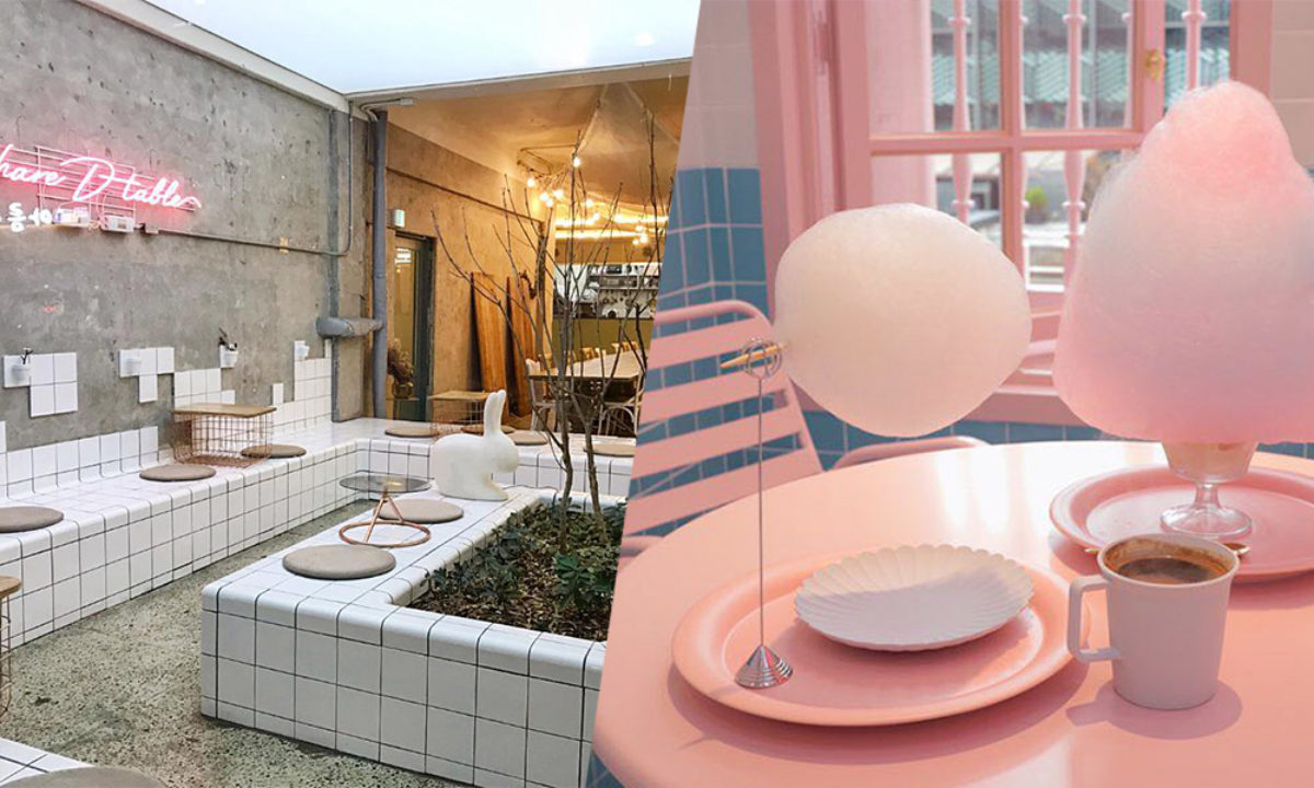 10 Aesthetic Cafes In Seoul With Minimalist Layouts Pastel Themes Zula Sg