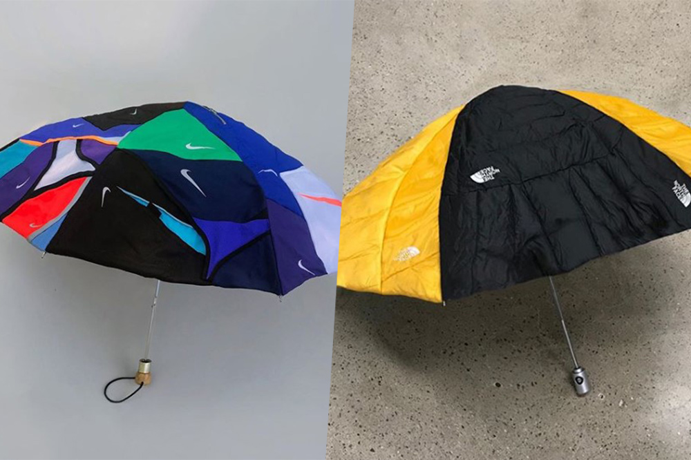 ikea sandals-nike umbrella