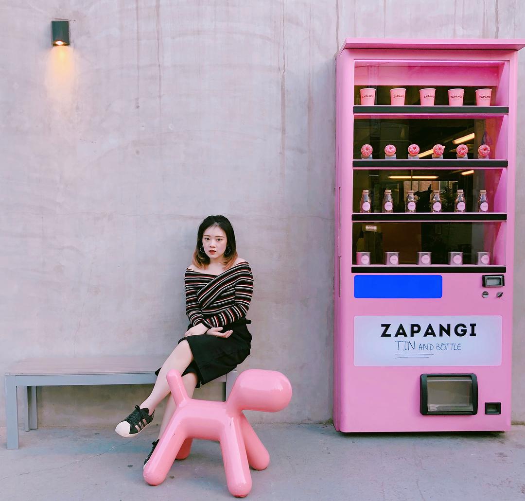 aesthetic cafes seoul zapangi