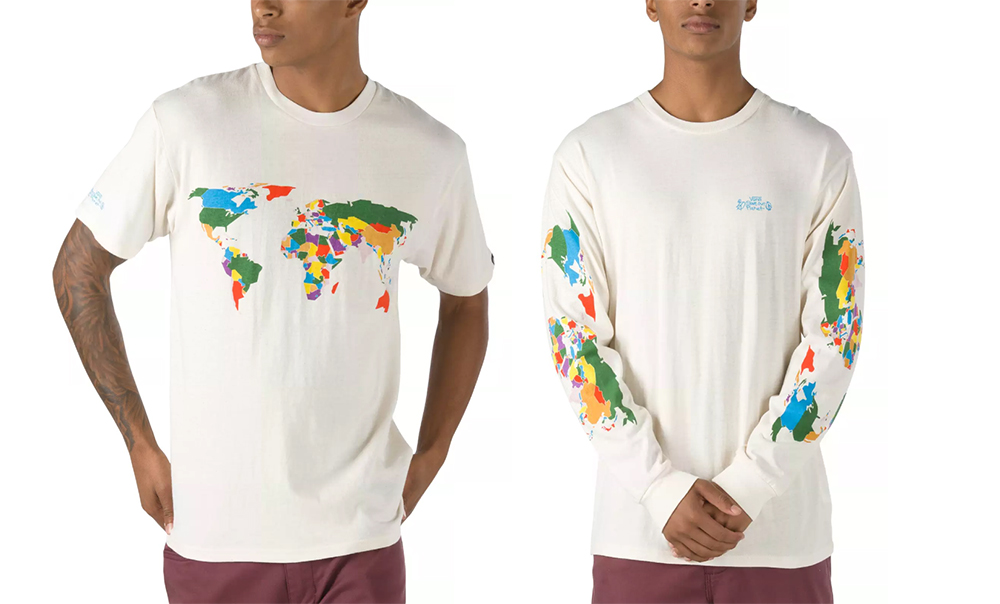 vans save our planet tees