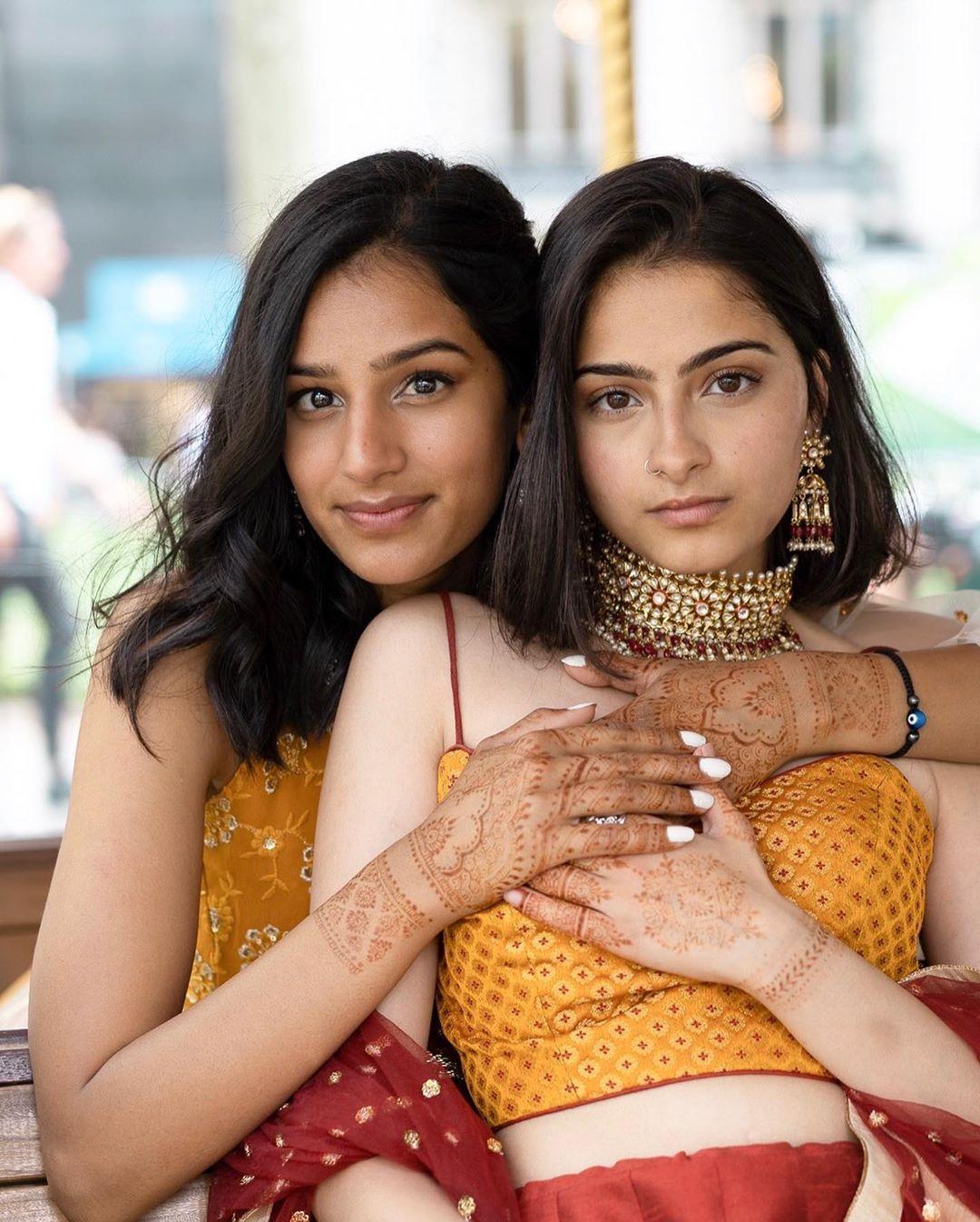 hindu muslim lesbian couple photoshoot