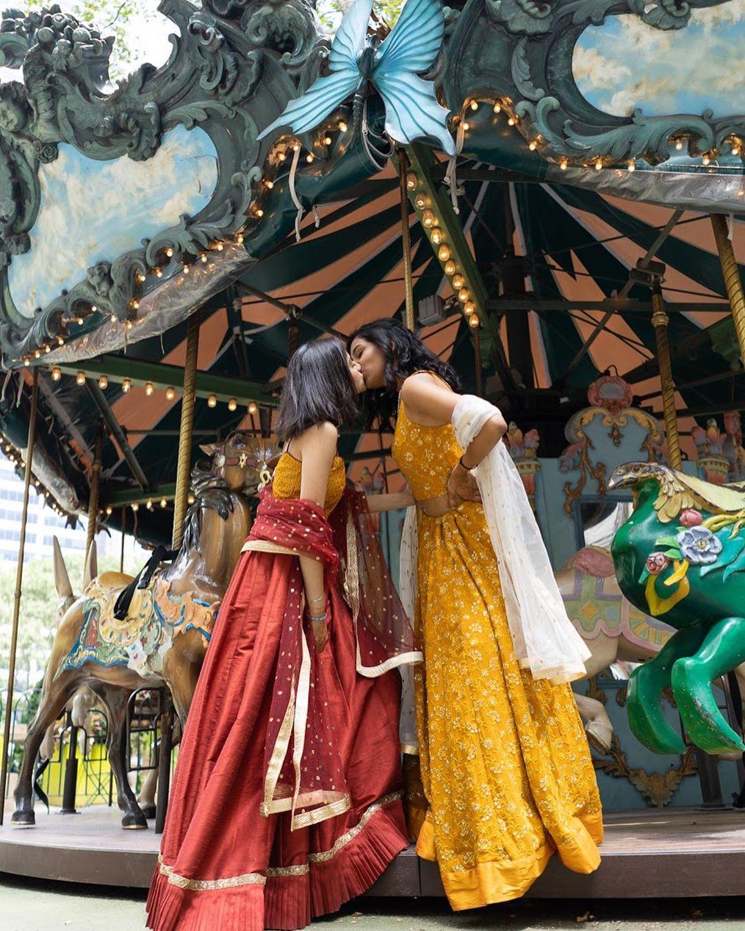 hindu muslim lesbian couple carousel