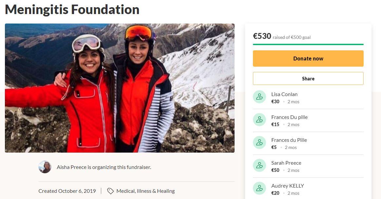 best friend died - fund raiser