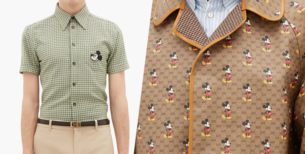 gucci mickey mouse cover image