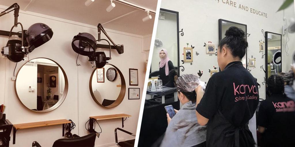 hijab friendly salons