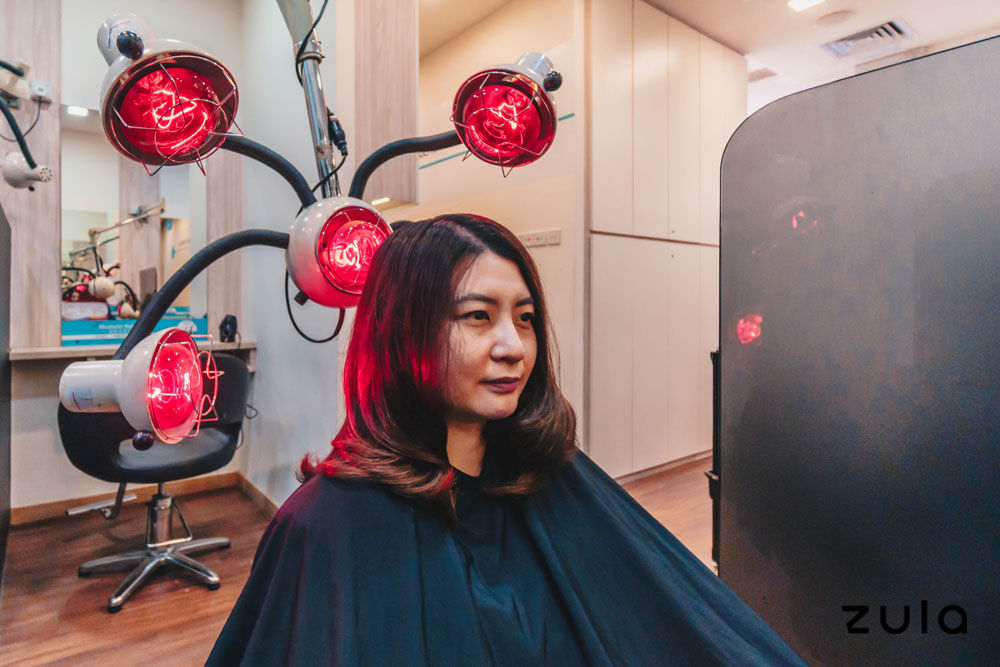 hair loss treatment topp care infrared