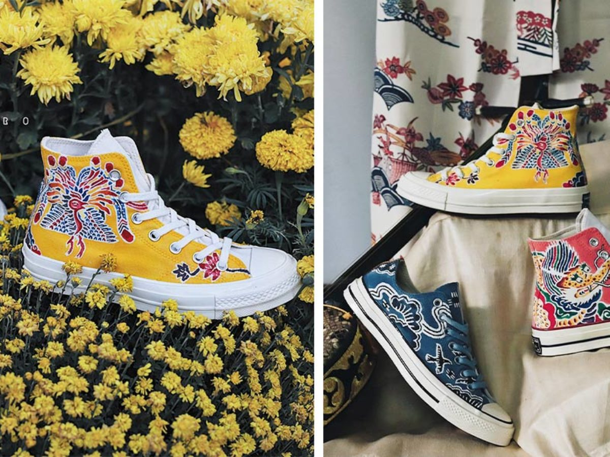 These Hand-painted Custom Converse