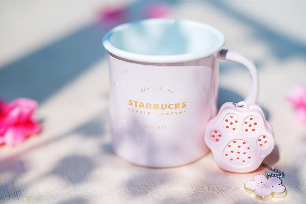 starbucks sakura collection paw