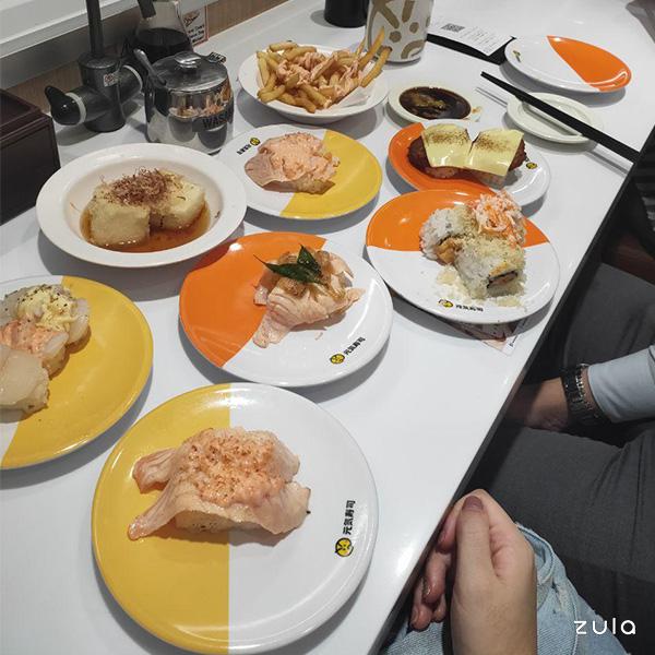 tinder dates sushi