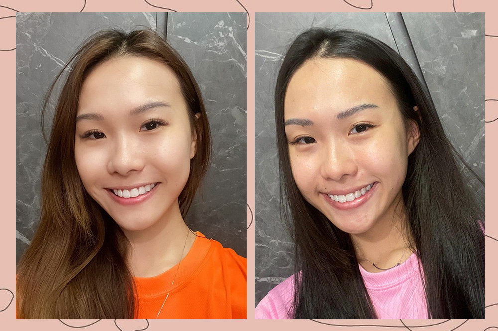 twin skincare routines last day