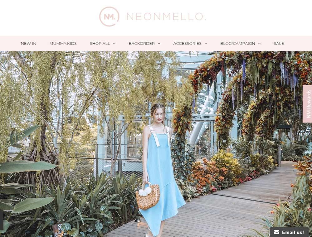 blogshops singapore neonmello