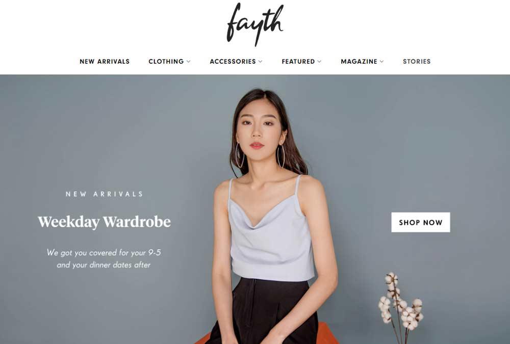 blogshops singapore fayth