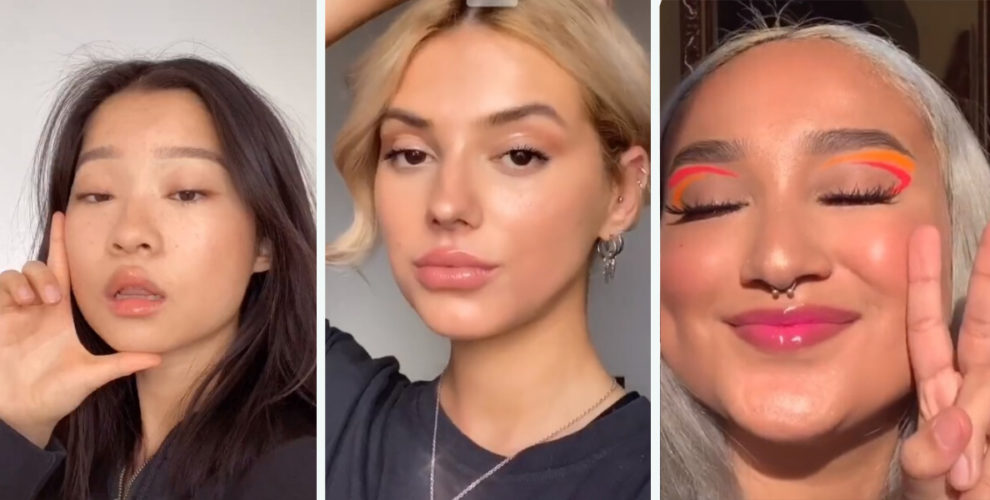 12 Easy Tiktok Makeup Tutorials You Can Practise To Pass Time At Home Zula Sg