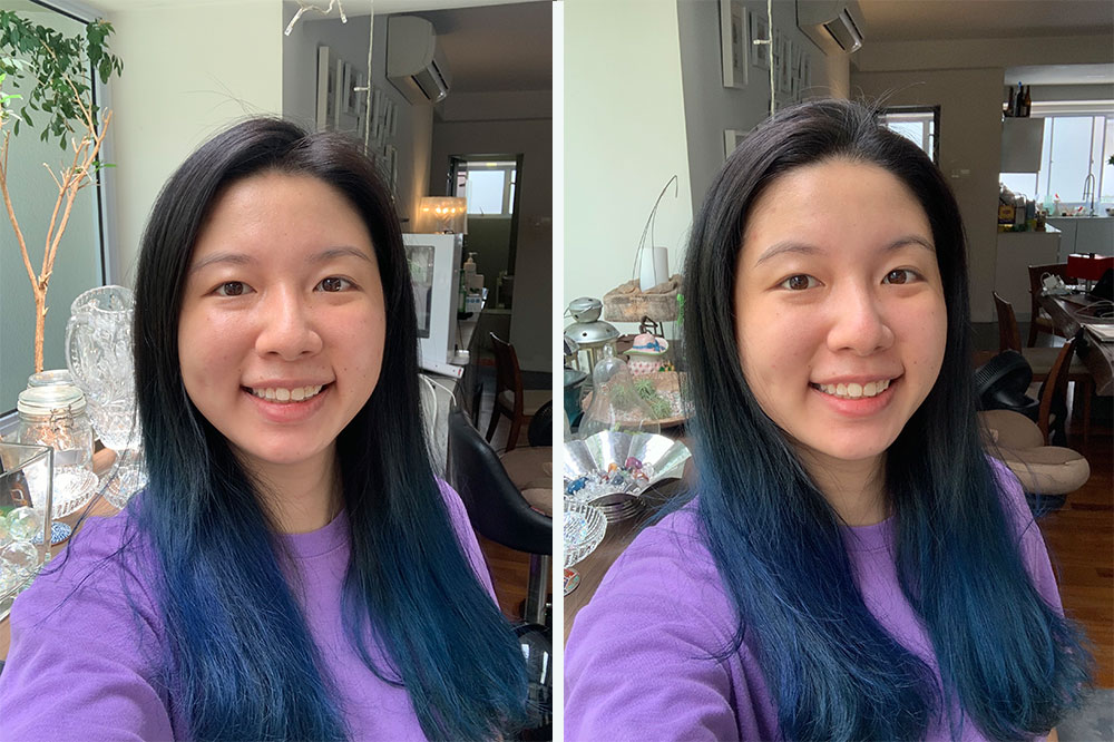 face mask before after joie