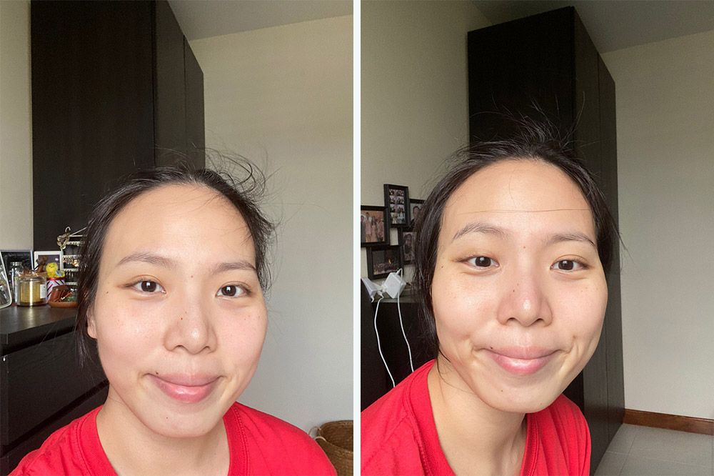 face mask before after ky