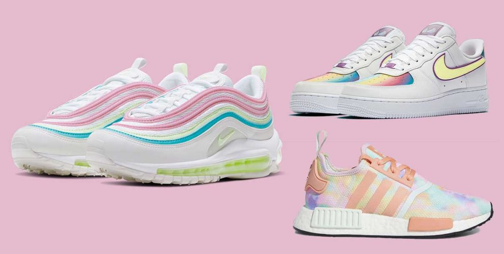 Pastel Sneakers From Nike \u0026 Adidas Are