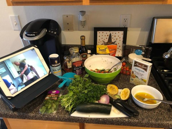 Virtual dating ideas - cooking