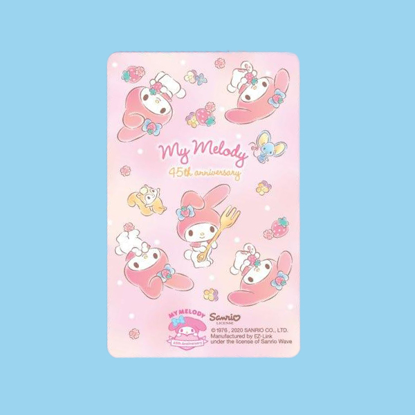 my melody ez-link cards design a