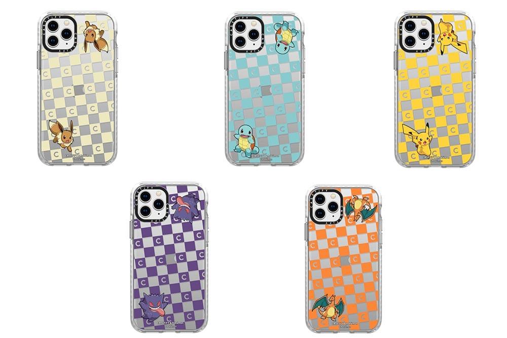 pokemon casetify checkerboard