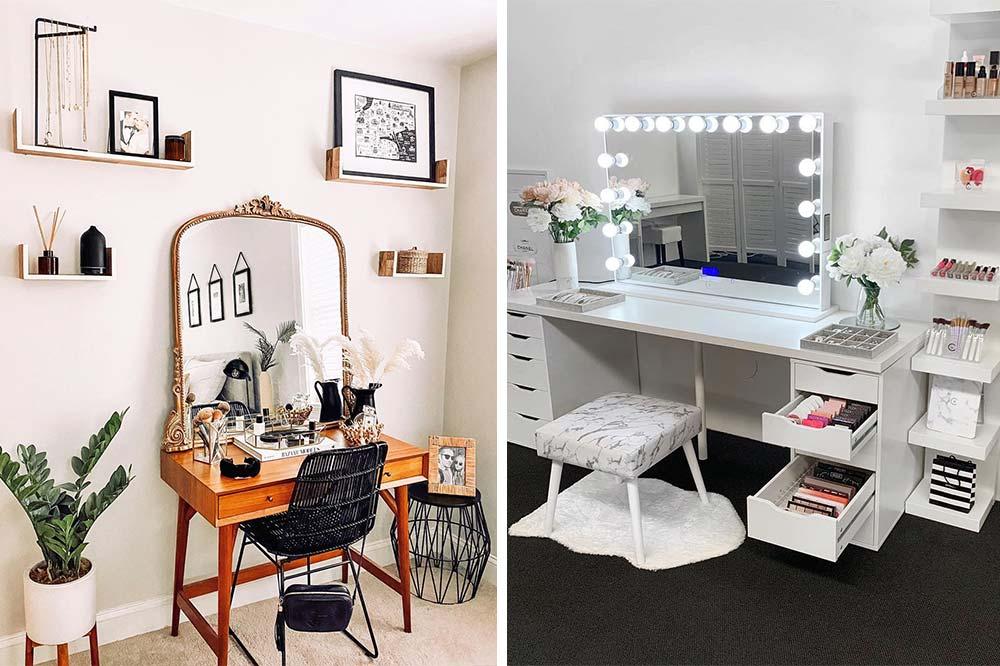 10 Gorgeous Makeup Dressing Table Ideas