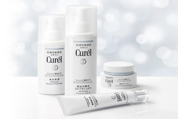 curel whitening moisture series