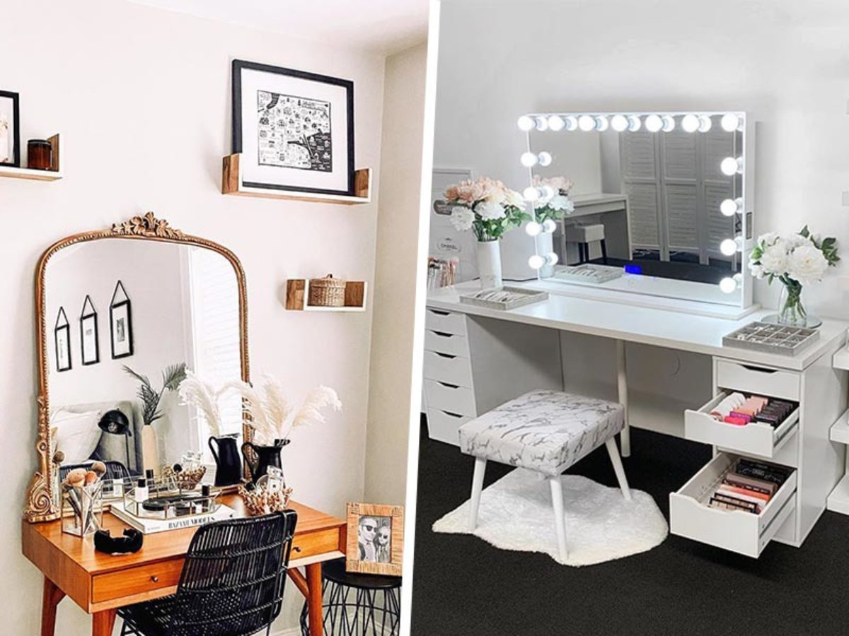 10 Gorgeous Makeup Dressing Table Ideas To Help You Start Your Morning Right Zula Sg
