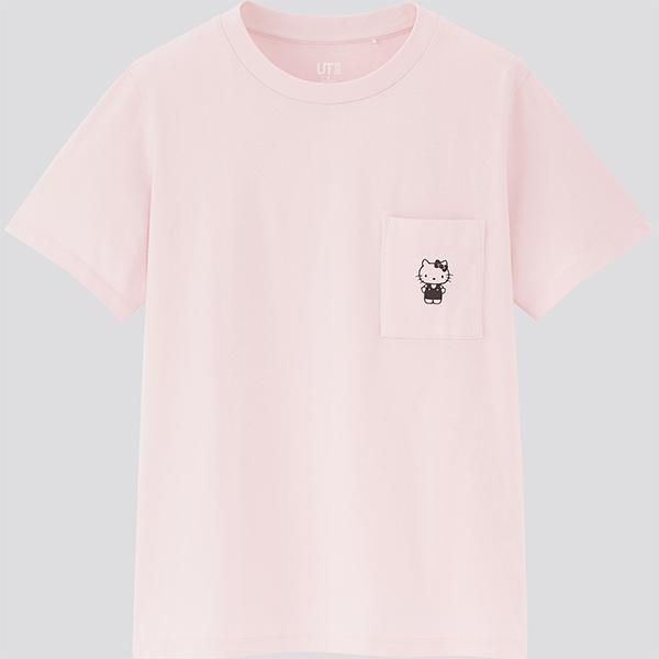 uniqlo-sanrio-ut-hello-kitty-pink-front