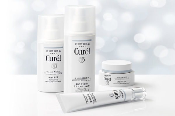 curel whitening moisture series