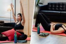 period yoga poses