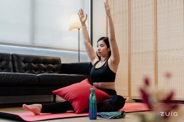 period yoga poses 1