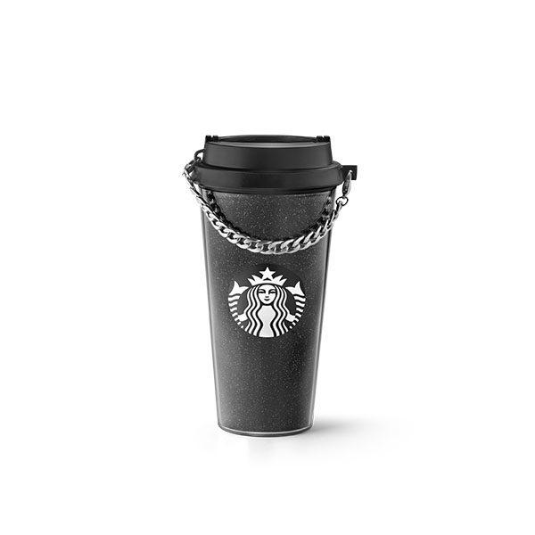 Starbucks X Rebecca Minkoff Black Chain Tumbler