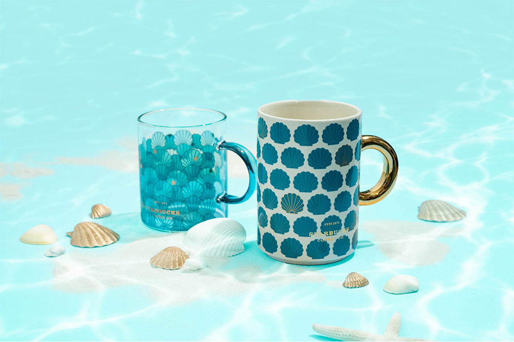 starbucks-mermaid-mugs-seashell-mugs