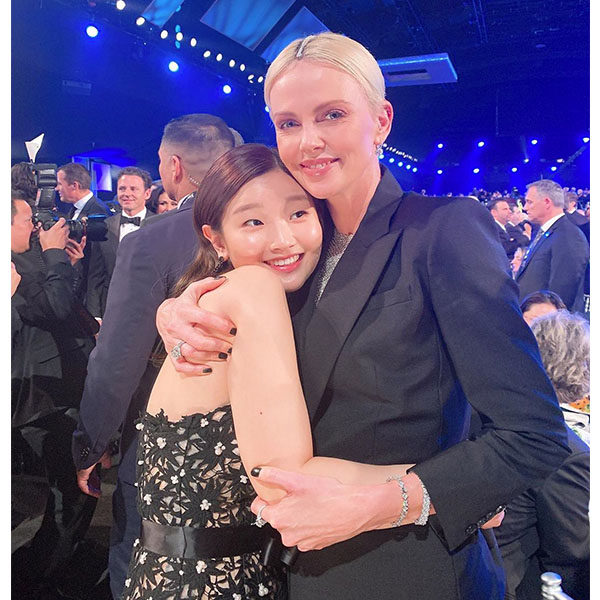 Park So Dam and Charlize Theron