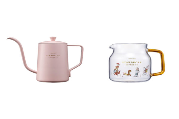 Starbucks Korea Autumn Collection Kettles