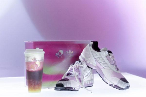 adidas heytea shoebox packaging