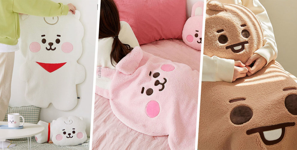 bt21 blankets and cushion cover photo 4