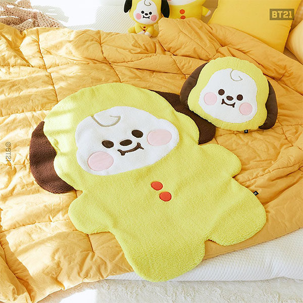bt21 blankets and cushions chimmy
