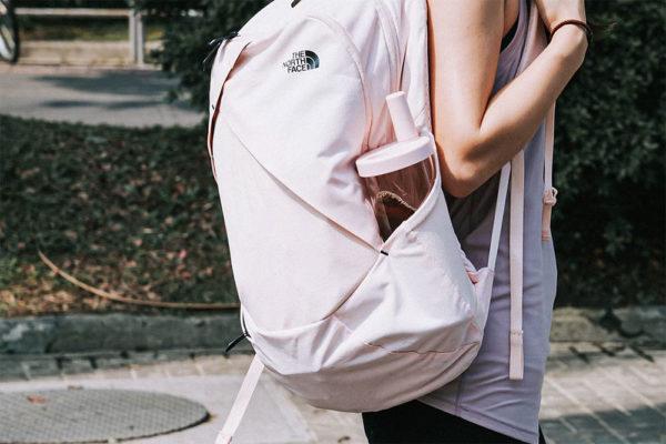 bubble tea eco tumbler in bag